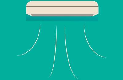 Icono aire acondicionado portada
