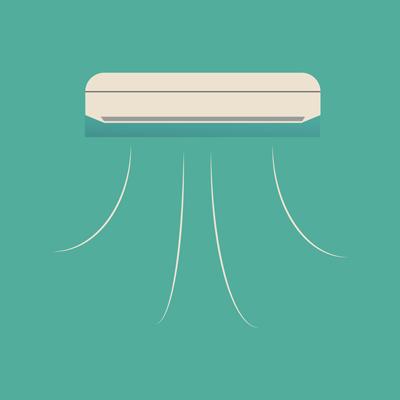Icono aire acondicionado